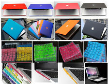 "4in1 MacBook Pro 13"" A1278 Hard Case Cover Keyboard Screen Skin Anti Dust Plugs"