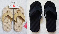 New The North Face Mens Base Camp Leather Flip Flop Sandals Footwear
