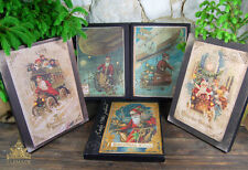 Vintage Steampunk Christmas Light Up Canvas / Picture - 41cm (Choice of 5)