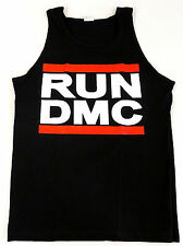 RUN DMC JAM MASTER JAY Tank Top T-shirt Hip Hop Rap Rock Black Adult S-2XL New