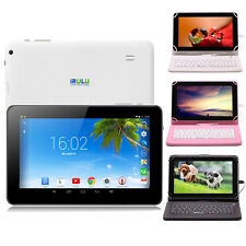 "iRulu 9"" 8GB Google Android 4.2 Dual Core&Cam WiFi Tablet Capacitive w/Keyboard"