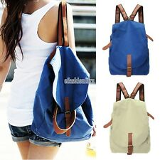 Fashion Women Girl Travel Backpack Canvas Leisure Bags School Bag Rucksack Chic