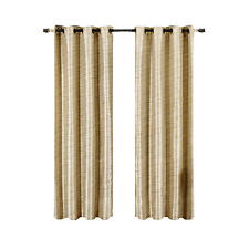 Geneva Ivory Blackout Grommet curtain panel Multilayer Energy Savings