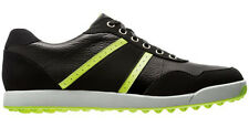 Footjoy Golf Contour Casual Golf shoe - Black/Lime - #54397 - Pick your size!