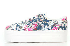 Jeffrey Campbell Zomg Sneakers - Blue Floral - Scarpa con platform blu a fiori