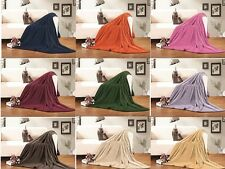 Ultra Super Soft Fleece Plush Luxury BLANKET ALL SIZE AND 10 COLOR