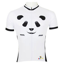 Lovely China Panda Men's Cycling Clothing Jersey Short Sleeve Athletic Apparel