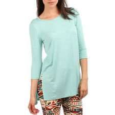 Over-Sized Tunic with Side Slits Available In 5 Colors