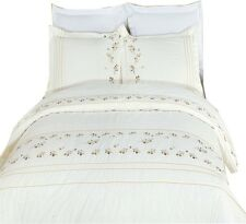 Tasneen Embroidered 4-PC Comforter Set 100% Egyptian Cotton