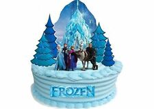 EDIBLE DISNEY FROZEN Castle WAFER STANDUP Birthday Party Decoration Cake Toppers