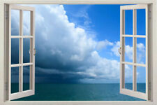 3D Window View Removable Wall Art Stickers Vinyl Decal Home Wallpaper kids room