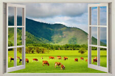animal Wall Window Art 3d Decor Decal Home Sticker Vinyl View Removable Sticker