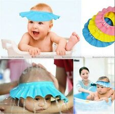 SMB Adjustable Baby Kids Shampoo Bath Bathing Shower Cap Hat Wash Hair Shield