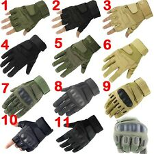 Man Motorcycle Full Finger Airsoft Military Tactical Cycling Hunting Half Gloves