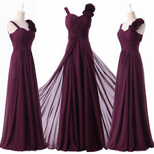 2014 New Luxury Tailored Chiffon Formal Prom Bridesmaid Party Evening Long Dress
