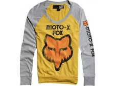 Fox Moto-X Girls L/S Pullover Gold