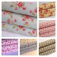 Metre pieces, 100% cotton, floral, plain, printed, ideal for sewing & patchwork