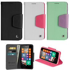 NEW INFOLIO WALLET CREDIT CARD CASH CASE STAND FOR NOKIA LUMIA 635 630 PHONE