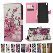 HD8 Fashion Printed Cute Lovely ID Card/Wallet Stand Flip PU Leather Cover Case