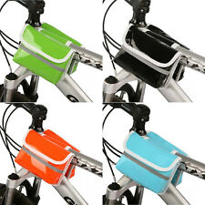 New Roswheel Waterproof PU Bicycle Bike Cycling Frame Front Tube Double Side Bag
