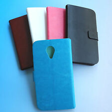 "Folder Flip PU Leather Case cover for Aldi Bauhn 5"" Dual SIM Smartphone SphereB5"