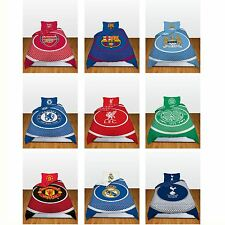 SINGLE FOOTBALL DUVET COVER BEDDING SETS - OFFICIAL BULLSEYE DESIGNS