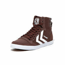 Hummel Slimmer Stadil high Canvas  Chestnut/OffWhite 63-111-8307