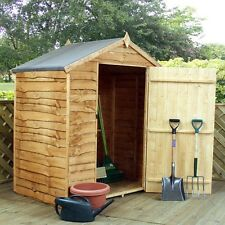 Budget Waney Edge Apex Garden Shed Multiple Sizes 3x5, 6x4, 3x6, 4x6, 10x6, 8x6