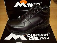 Mountain Gear Men's D-Day LE 2 Hiking Boots #316351-01A All Black