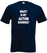76a. Autism Kids T-shirts - What? Is my Autism Showing?