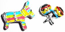Pinata Maracas party music donkey instrument living floating charms locket