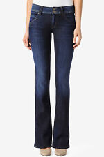 Hudson Jeans Signature Mid Rise Bootcut Flap Womens Denim Sizes 24 - 32 D'Arcy