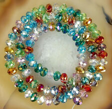 NEW wholesale Multicolor DIY Crystal Loose Beads 4mm 6mm 8mm 5040  AB+