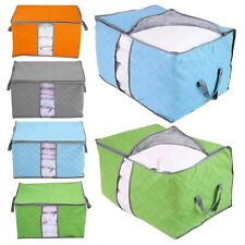 Reusable Strong Large Jumbo Bedding Duvet Pillow Zipped Laundry Storage Bag Box