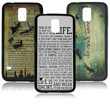 Peter Pan Quotes Durable case for Samsung Galaxy S5 i9600 PC+TPU A0132