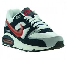 Nike Chaussures De Sport Style Baskets Air Max Command Blanc Chaussures Retro
