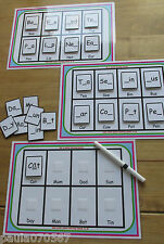 My first learning boards, ~spelling~writing~word recognition~ velcro pecs