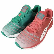 Puma Faas 300 V3 Wns Red Green 2014 Womens Jogging Running Shoes Trainer