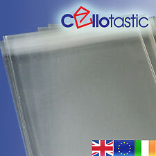 Cello Bags for Greeting Cards | Clear Self Seal | Peel and Seal | Polypropylene