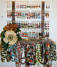 """MISSY"" Glitzy Girl Earring Holder & Jewelry Display **Organizer"""" Pick A Fabric"