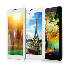 "IRULU 7"" inch Android 4.4 Dual Core SIM Bluetooth GPS 3G Phone Tablet PC Phablet"