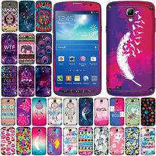 FOR SAMSUNG GALAXY S4 ACTIVE I537 Galaxy DreamCatcher Vinyl Decal Sticker Cover