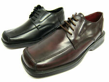Mens Malvern Leather Lace Up Formal Shoes Style MAL779