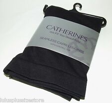 Seamless Control Top Capri Leggings Catherines Black Size A/B C/D 1X 2X 3X 4X 5X