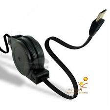 Retractable USB Data Sync Charger Cable for Sony Cell Phone, Smartphone