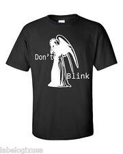 DON'T BLINK - T-SHIRT-NEW-ALL SIZES COLORS AVAIL DOCTOR WHO WEEPING ANGEL