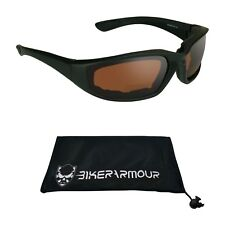 Blue Blocker Motorcycle Bifocal Sunglasses Goggles HD Safety Z87 +1.0 to 3.0 2.0