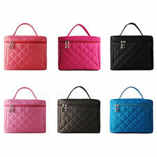 Large Toiletry Organizer Bag Travel Lady Beauty Makeup Cosmetic Storage Case Box