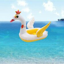 Baby Kids Water Fish Boat Shark Inflatable Swimming Pool Swan Boat Animal Floats