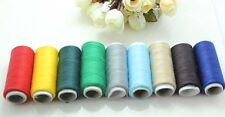 5ROLL*200Yard Polyester machine hand Sewing Embroider Thread Trim DIY 10 color